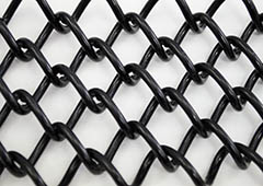Extruded 1 1 2 Quot X 1 1 2 Quot Mini Mesh Chain Link Fence